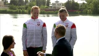 2015 Baku K2 200m Women Canoe Sprint European Games