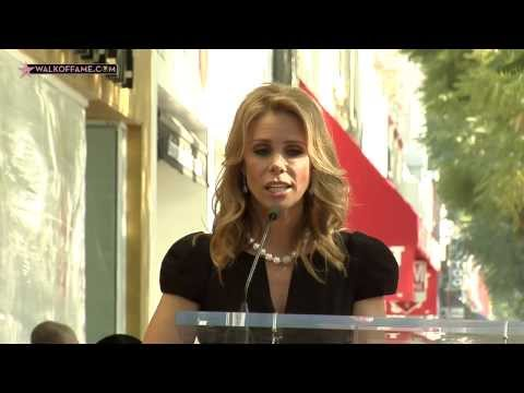 Cheryl Hines Walk of Fame Ceremony