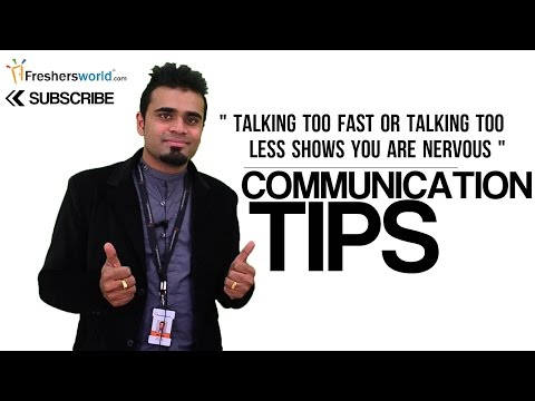 Effective Communication Tips for Job Interview to Freshers – Interview tips