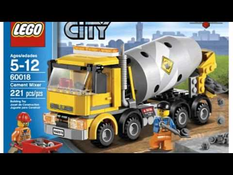 Video City Cement Mixer 60018 now online at YouTube