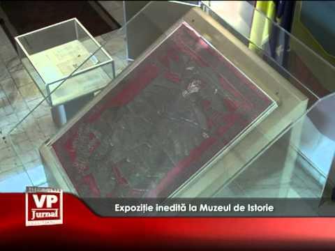 Expoziţie inedită la Muzeul de Istorie