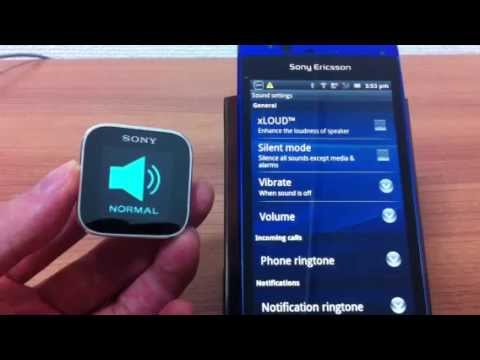 Video of ModeChanger for SmartWatch
