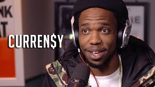 Hot 97 - Currensy Talks Worst High Ever, Dame Dash Owing Him Money + New Music