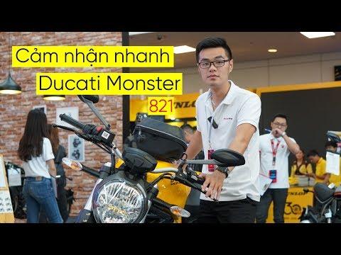 Giới thiệu nhanh Ducati Monster 821 [AUTOPRO | TEEANH] - Thời lượng: 86 giây.
