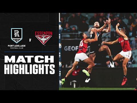 Port Adelaide v Essendon Highlights | Round 17, 2020 | AFL