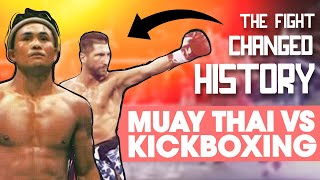 Muay Thai vs. Kickboxing: The Legendary Fight That Changed History