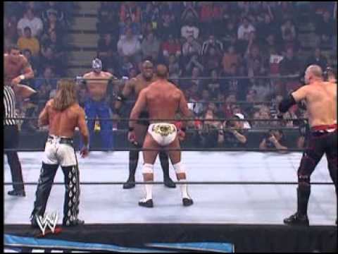 smackdown - Randy Orton, Rey Mysterio, Batista, JBL and Bobby Lashley vs. Kane, Big Show, Carlito, Chris Masters and Shawn Michaels in a Classic Smackdown vs. Raw match.