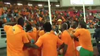 Côte D'Ivoire Celebration - Orange Africa Cup Of Nations, EQUATORIAL GUINEA 2015