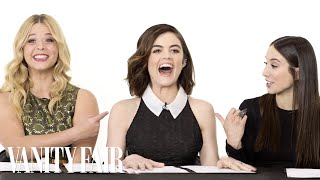 Video The Cast of Pretty Little Liars Takes a Lie Detector Test MP3, 3GP, MP4, WEBM, AVI, FLV Januari 2019