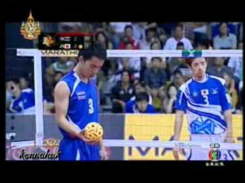 Thailand vs Japan'' Sepak Takraw World SuperSeries 2011 Set 3