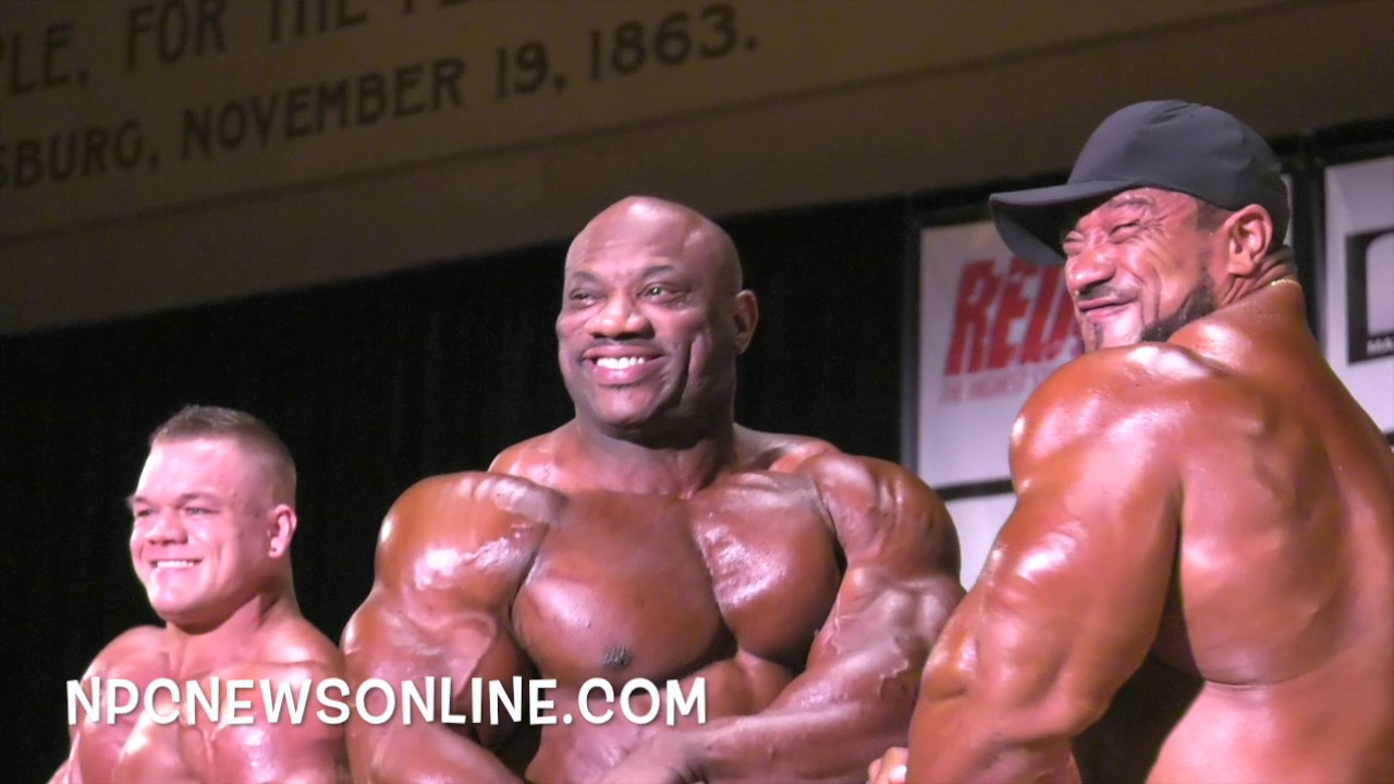 2017 IFBB PITTSBURGH PRO GUEST POSERS VIDEO:
