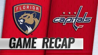 Huberdeau helps Panthers pick up first win by NHL