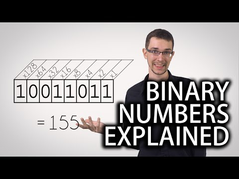 binary - Binary numbers, man... How do they work? Get a FREE 7 day trial for lynda.com here: http://bit.ly/1hvWvb9 Follow Taran on Twitter @taranvh.