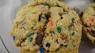 Cake Batter Oreo Sprinkle Cookies-