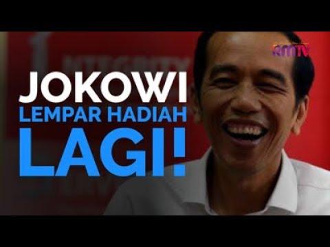 Jokowi Lempar Hadiah, Lagi!