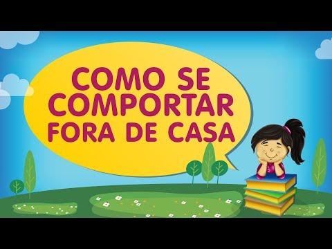 COMO SE COMPORTAR FORA DE CASA | Histórias com a Tia Érika