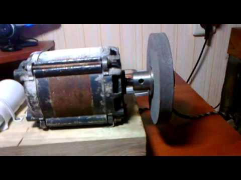 Наждак из двигателя стиральной машины своими руками