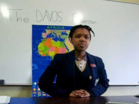 The Davos Question from South Africa