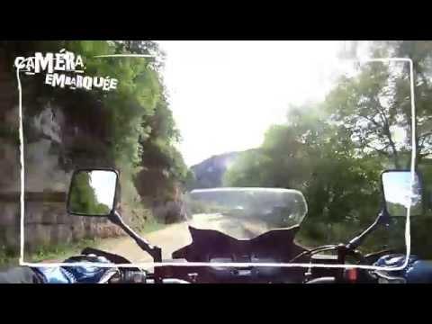 La vallée de la Loue à moto avec Vincent Philippe