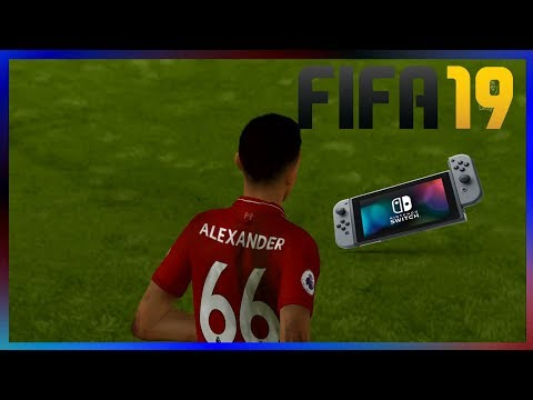 FIFA 19 (Nintendo switch)| Everton vs. Liverpool|Rival Match|Gameplay