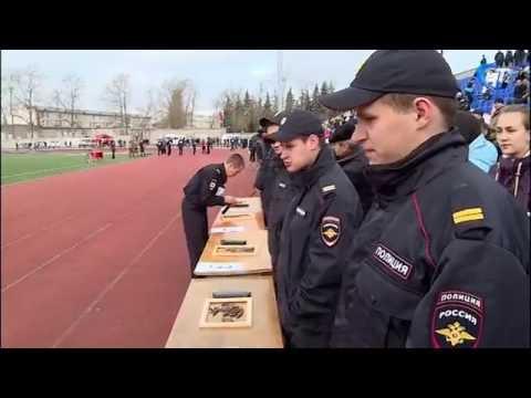 На стадионе «Волна» прошел спортивный праздник, посвященный Дню сотрудника органов внутренних дел