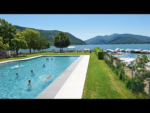 TCS Camping Lugano sul Lago di Lugano
