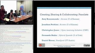 Session 3-1 Creating and Collaborating on Open Educational Resources