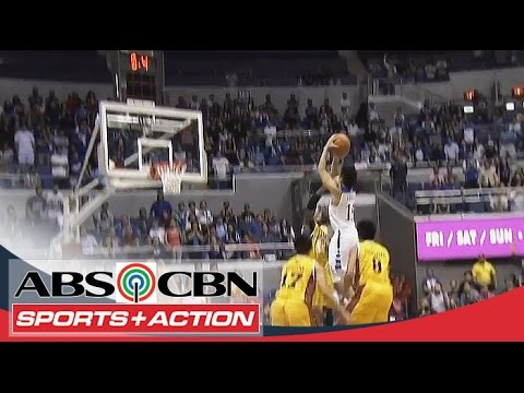 Kiefer - When the game is on the line, who else to give the ball? Kiefer Ravena does it again as he lifts the Blue Eagles past the Growling Tigers with his 15-ft clutch jumper. Subscribe to the ABS-CBN...