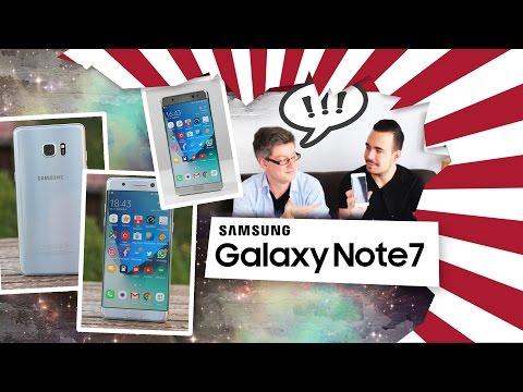 Samsung Galaxy Note 7: Unsere Erfahrungen mit dem Samsu ...