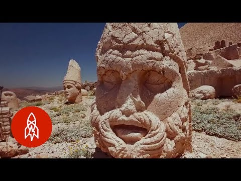 The Mysterious Sculptures in Turkey's Mountains