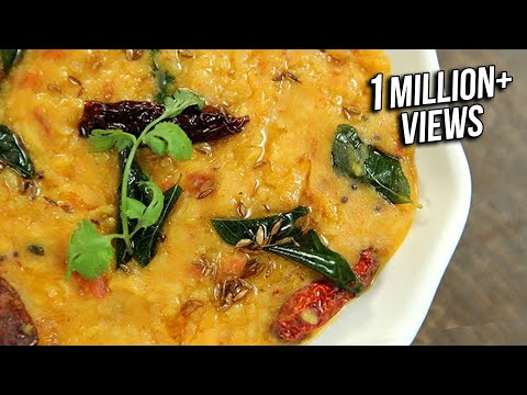 Dal Khichdi Tadka Recipe | Restaurant Style Dal Khichdi Recipe | Easy Rice Recipe | Varun Inamdar