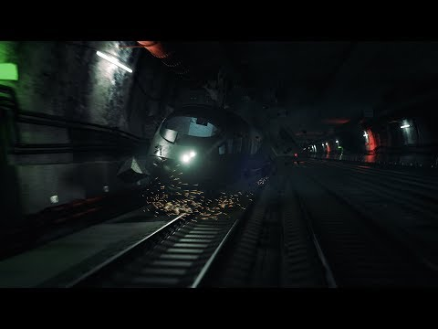 TRAIN CRASH SCENE - VFX STUDENT PROJECT