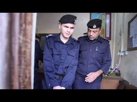 الشرطة الفلسطينية تحقق أمنية الكفيف محمد النجار بتعينه مدير لمركز شرطة رفح
