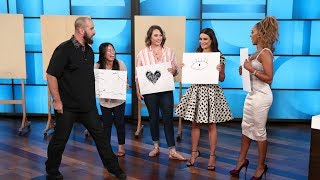 Video Lea Michele and Mel B Impressed with Magic Tricks by Magician Jon Dorenbos MP3, 3GP, MP4, WEBM, AVI, FLV November 2018
