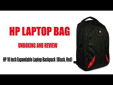 HP laptop bag review || 18 inch laptop bag