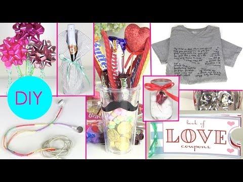 DIY Gift Ideas for Him & Her ! 7 DIY Gift Ideas for Boyfriends or Girlfriends