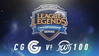Video CG vs. 100 - Week 3 Day 1 | NA LCS Spring Split | Clutch Gaming vs. 100 Thieves (2018) MP3, 3GP, MP4, WEBM, AVI, FLV Juni 2018