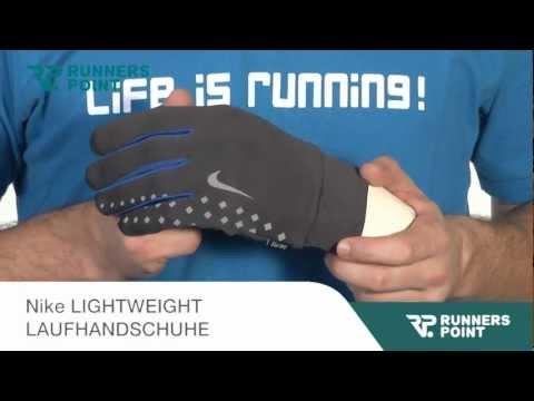 Nike LIGHTWEIGHT LAUFHANDSCHUHE