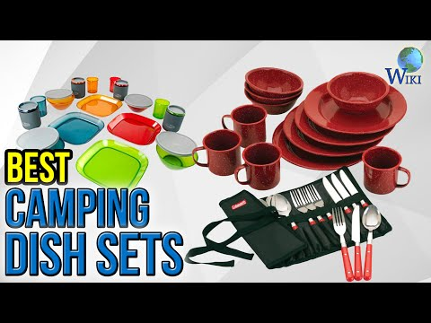 10 Best Camping Dish Sets 2017