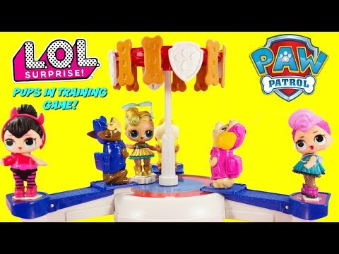 Play doh - LOL SURPRISE Paw Patrol Pups In Training Game Luxe, Spice, Miss Punk