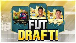 FIFA 16 | THE BEST FRONT 3 IN THE WORLD | SIF NEYMAR, SUAREZ AND MESSI | MY BEST FUT DRAFT, neymar, neymar Barcelona,  Barcelona, chung ket cup c1, Barcelona juventus