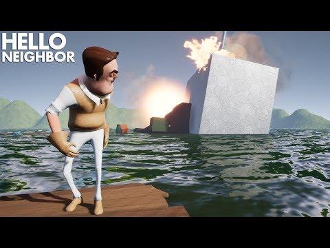Hello Neighbor ON A SINKING SHIP!!!   Hello Neighbor (Mods) (видео)