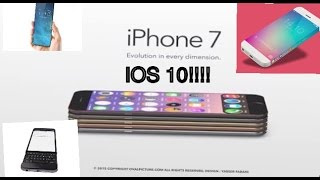 APPLE IPHONE 7/5SE/6C PLANNED DESIGN LOOK ON IOS 10!!!!!!   RUMORS!!!!!!, iPhone, Apple, iphone 7