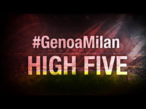 High Five #GenoaMilan