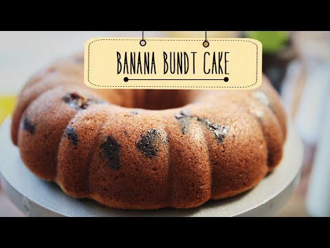 Banana Bundt Cake | Banana Cake Recipe | Beat Batter Bake With Priyanka