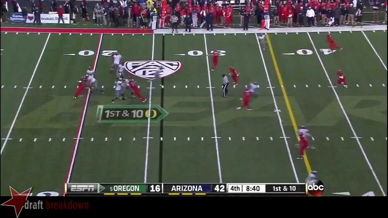 Shaquille Richardson vs Oregon (2013)