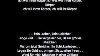 Sean Paul - Want Your Body ft. LeftSide [German Lyrics]