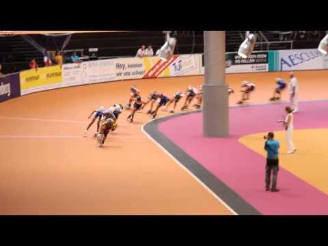 Гонка на бали 5000 метрів (ТРЕК) Юніорки В, Чемпіонат Європи-2014