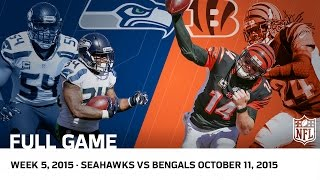 In honor of Free Game Friday the NFL presents the Bengals comeback win against the Seahawks! 5:58 Dalton 14-yard TD Pass to T. Eifert 12:41 R. Wilson ...