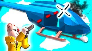 SHOOTING DOWN HELICOPTERS!!! (Roblox Jailbreak) *NEW UPDATE*